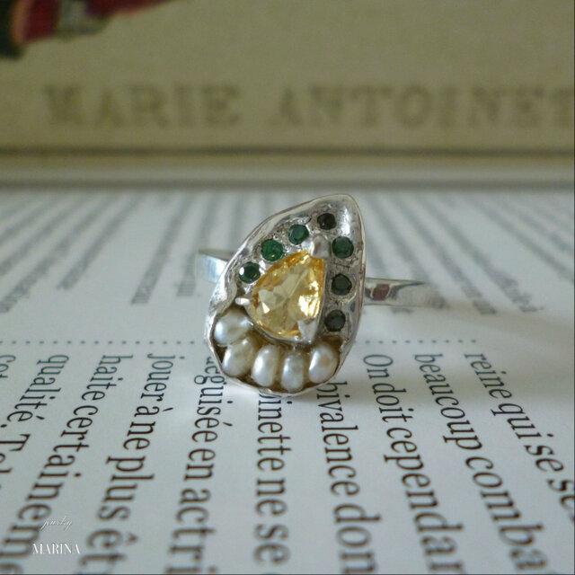 Antique silver Ring - #001の画像1枚目