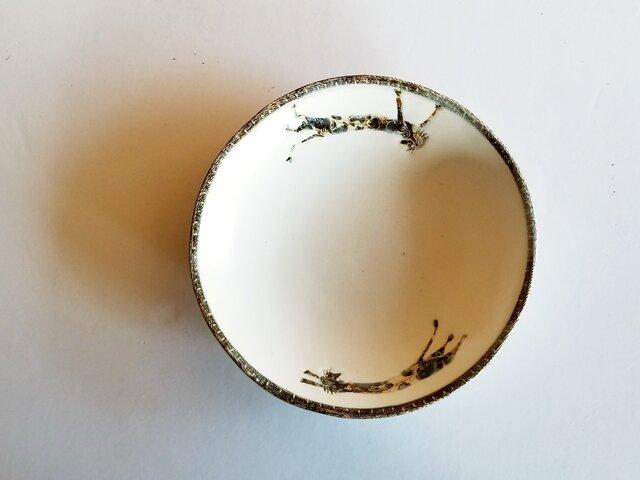 皿(ネコの追いかけっこ)②の画像1枚目