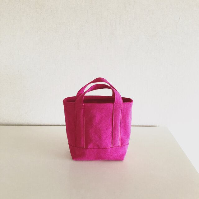 TOTE BAG (S) / pinkの画像1枚目