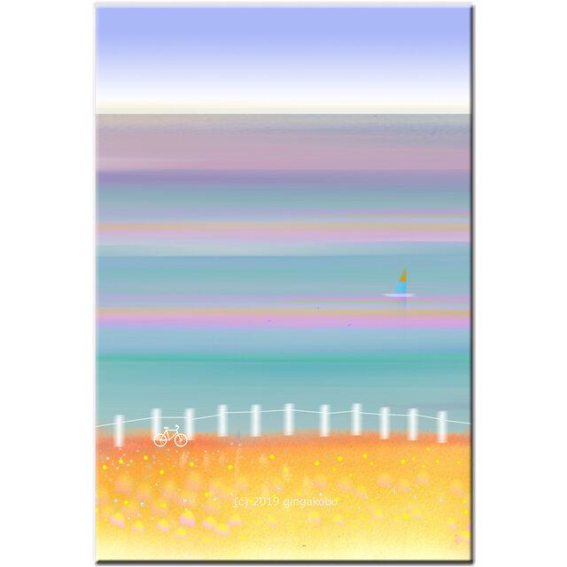 「今日はHolidayしよ^^」 ほっこり癒しのイラストポストカード2枚組No.751の画像1枚目