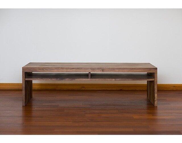 受注生産 職人手づくり ローテーブル センターテーブル ソファーテーブル テレビ台 ローボード サイズオーダー可 家具の画像1枚目
