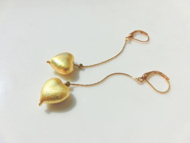 gold heartの画像1枚目