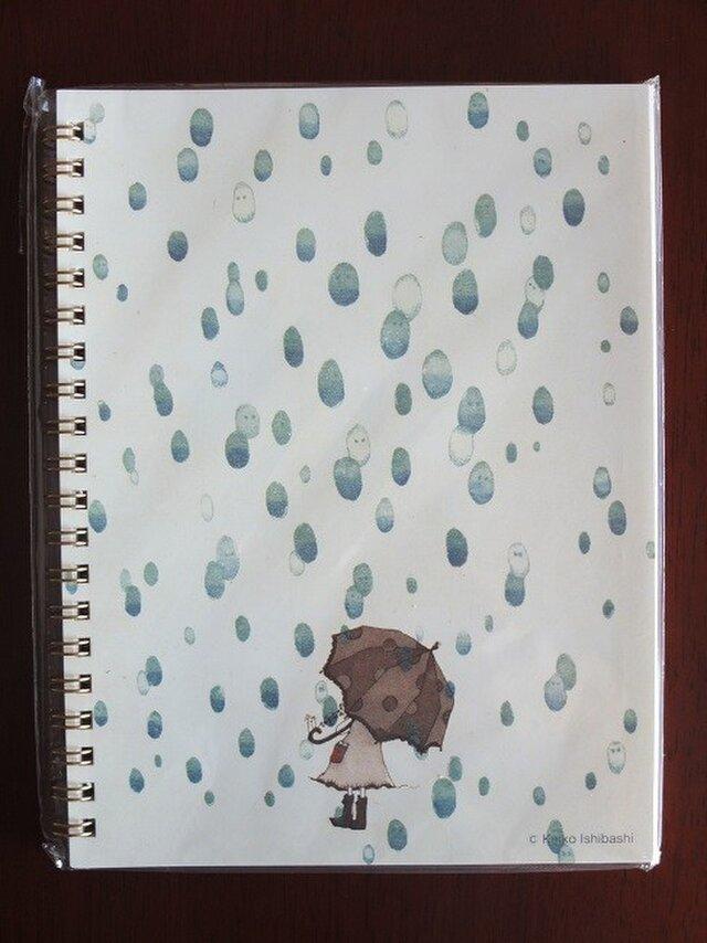 リングノート *It's raining*の画像1枚目