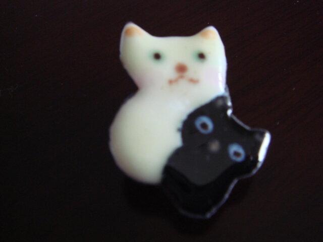 七宝 仲良しピッタンコ猫の画像1枚目