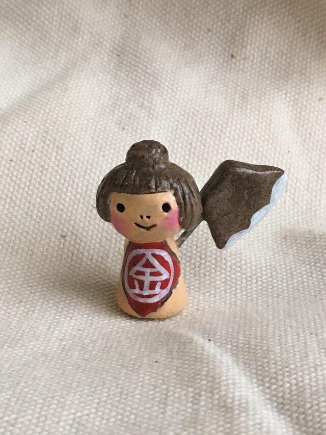 ミニ皐月人形 金太郎の画像1枚目