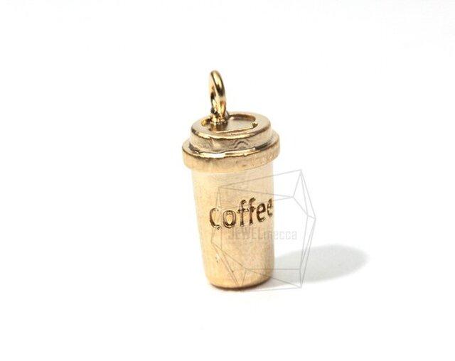 PDT-053-MG【4個入り】コーヒーカップペンダント,Coffee Cup Pendantの画像1枚目