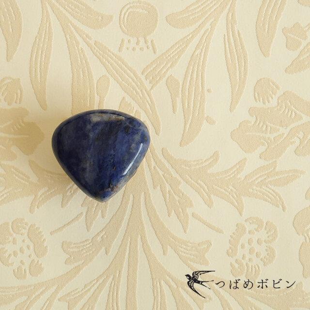 天然石の帯留 ◎ ラピスラズリ/A【送料無料】の画像1枚目