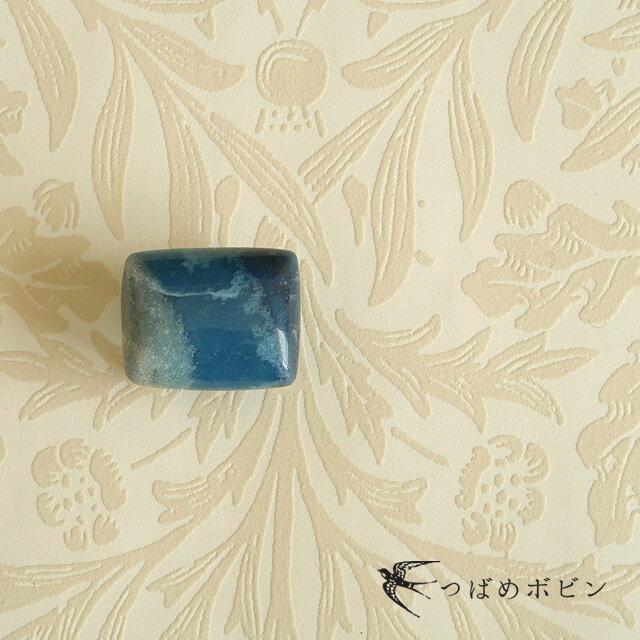 天然石の帯留 ◎トロレアイトインクォーツ/A【送料無料】の画像1枚目