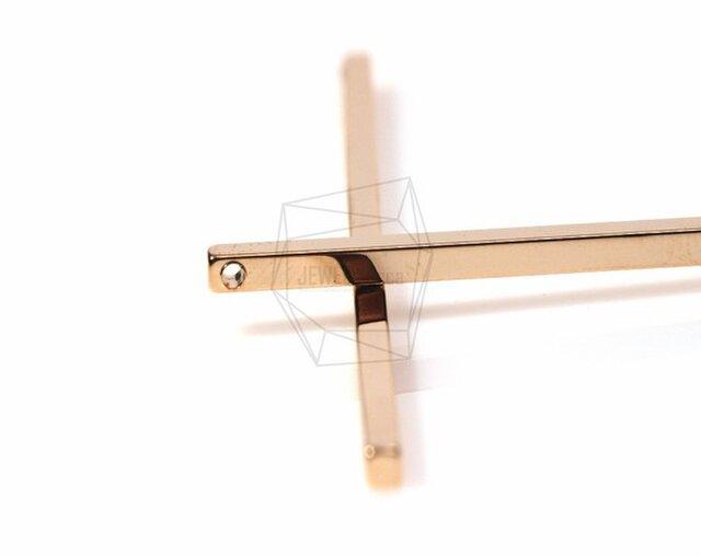 PDT-394-G【4個入り】スティックバーペンダント,Stick Bar Pendant/ 2mm x 60mmの画像1枚目