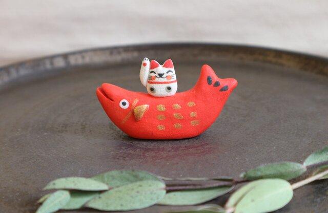 招き猫 on 鯛の画像1枚目