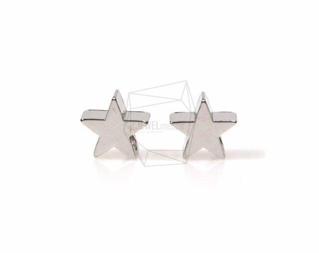PDT-568-R【4個入り】スターチャーム,Tiny Star Charm/6mm x 6mmの画像1枚目