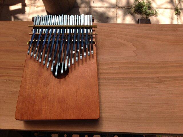再製作版 12音階カリンバ(桜)30keyの画像1枚目
