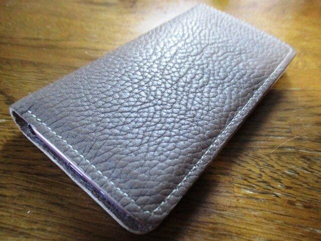 【ご予約品】iPhone8用 手帳型ケース トリヨンの画像1枚目