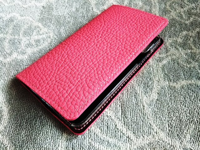 【ご予約品】iPhoneXS用 手帳型ケース トリヨンの画像1枚目