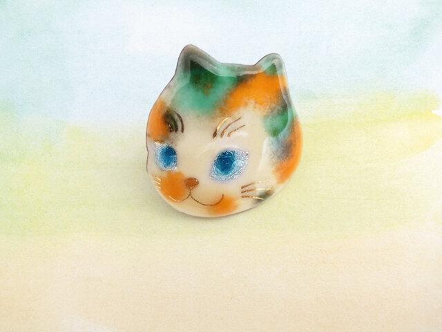風船猫のピンブローチ 474の画像1枚目