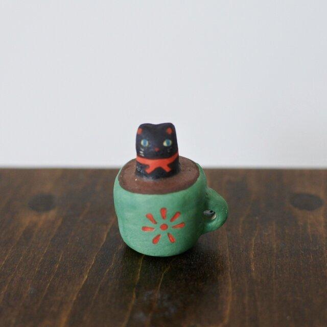 BLACK CAT【tea cup】の画像1枚目