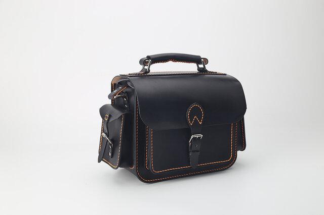 【切線派】★特別版★本革手作りのクラシックレザーカメラバッグをショルダーバッグの画像1枚目