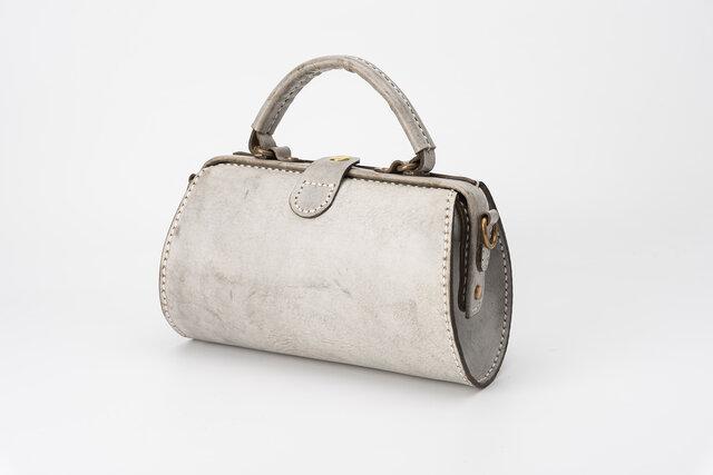 【切線派】新商品キャンペーン中!がま口 本革手作りのレザーショルダーバッグ 総手縫い 手持ち 肩掛け 2WAY 鞄の画像1枚目
