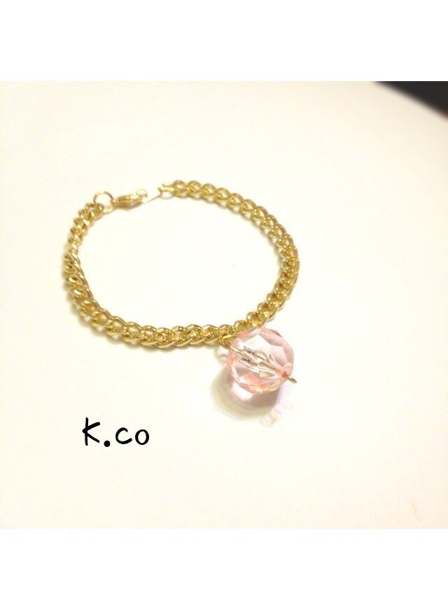 bracelet PINKの画像1枚目