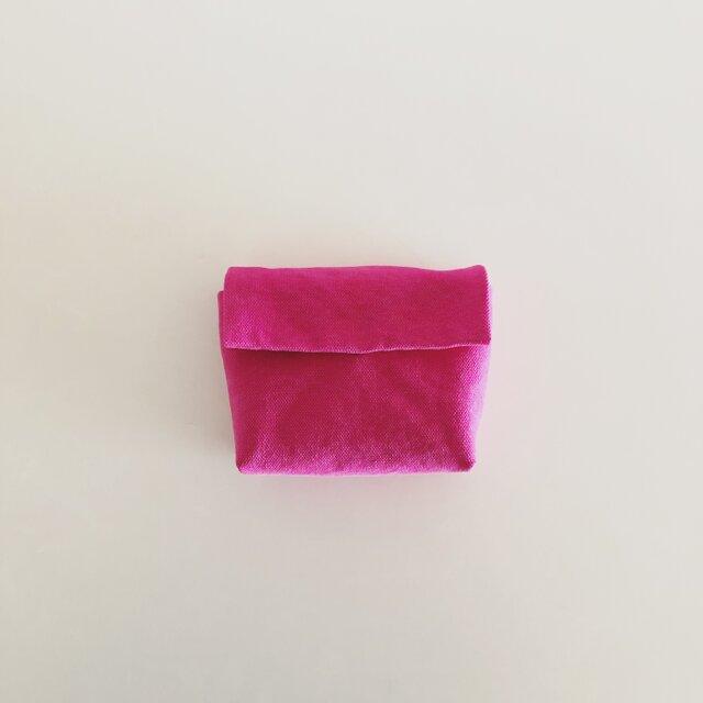 きちんとポーチ S / pinkの画像1枚目