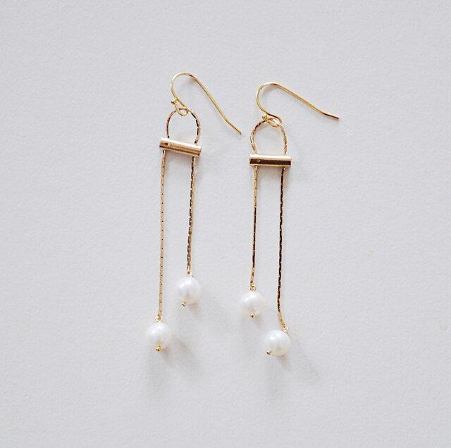 Onpu earringsの画像1枚目