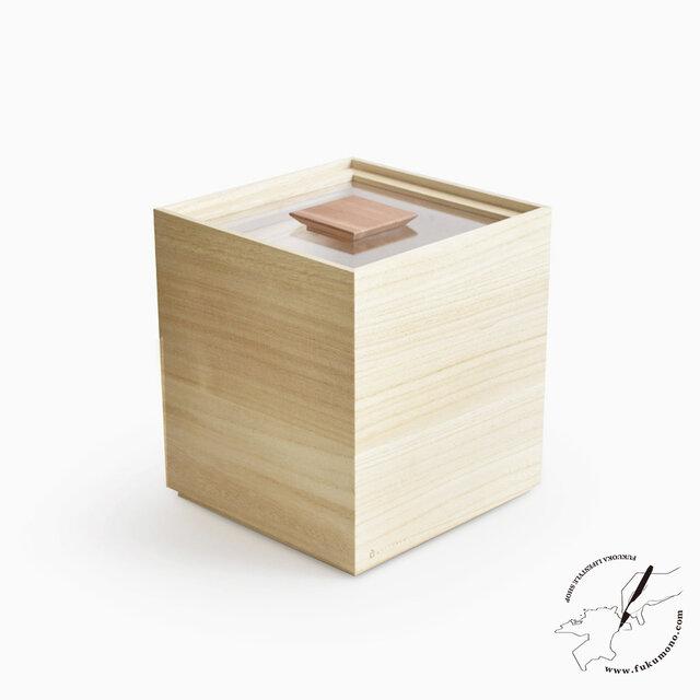 桐の米びつ 5kgの画像1枚目