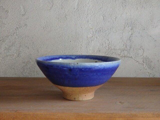 4寸碗・blueの画像1枚目