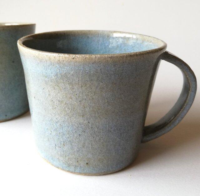 松灰釉マグカップ2の画像1枚目