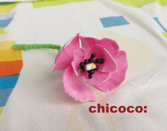 *miniminiポピー pink*の画像1枚目