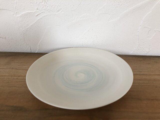 plate シンプルな皿 練り上げの画像1枚目