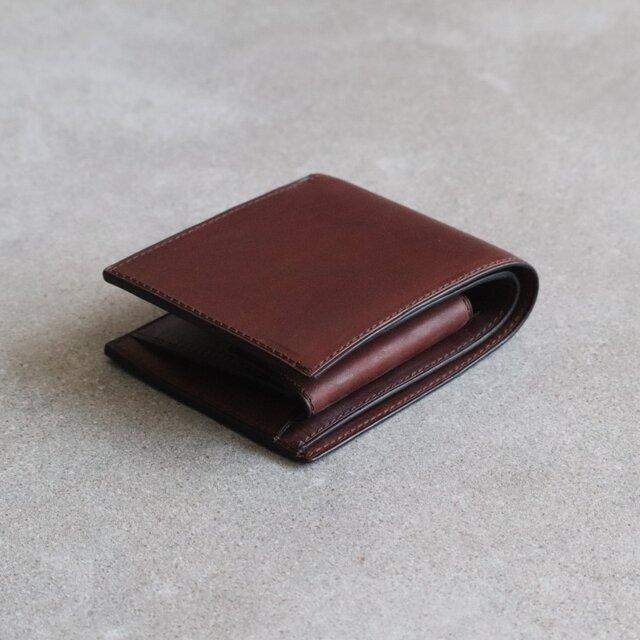 二つ折り財布 / Chocolateの画像1枚目