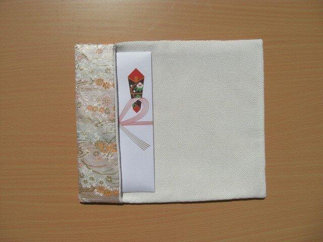 袱紗 お祝いの席に 御婚礼用の御祝儀袋の大きな水引にもの画像1枚目