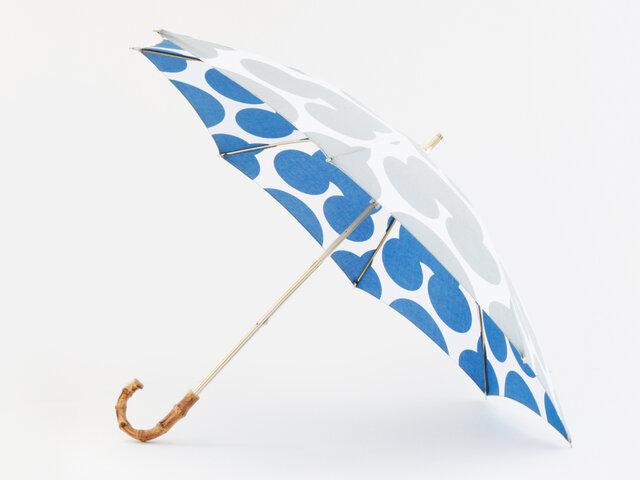手ぬぐい日傘 かさねの色目〜冬凪〜の画像1枚目