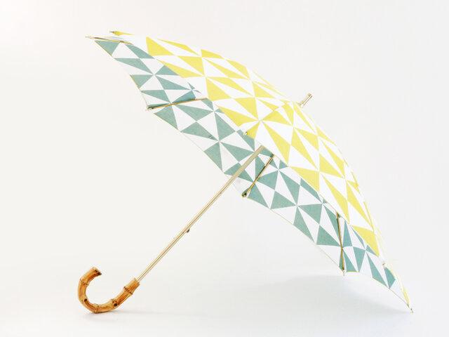 手ぬぐい日傘 かさねの色目〜風光る〜の画像1枚目