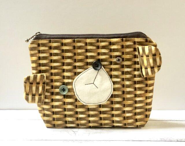 新作▽  Basket bear porchの画像1枚目