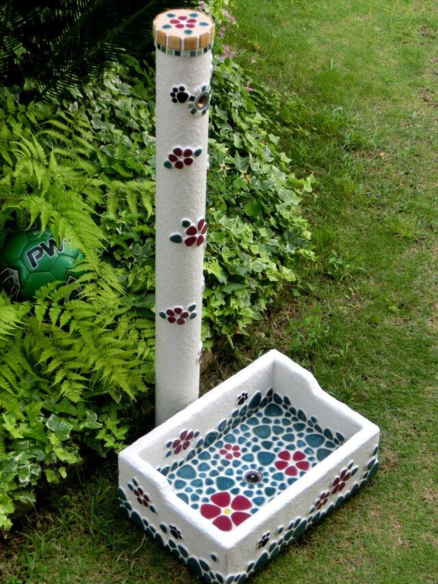 ガーデンシンク&水栓柱セットの画像1枚目