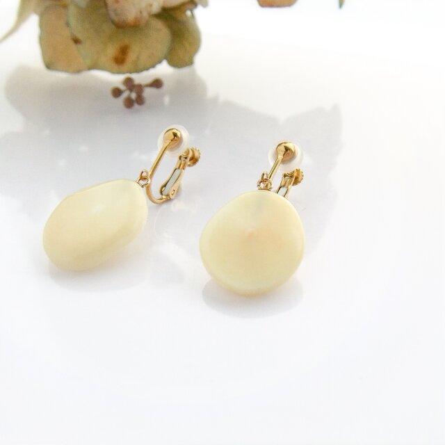 k10✼Makkoh earrings 92040の画像1枚目