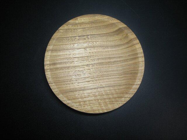 栗の木の丸皿1の画像1枚目