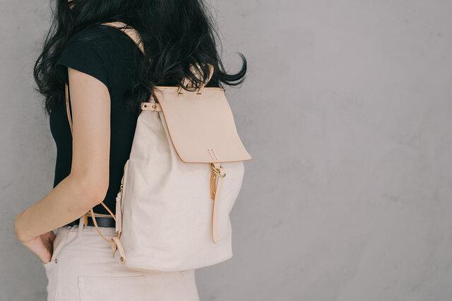 新商品キャンペーン中!手作りのリュック レディース バッグ かわいい フラップリュックサックおしゃれ リュックの画像1枚目