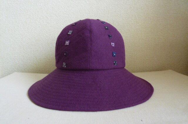 紫色のキャプリーヌの画像1枚目