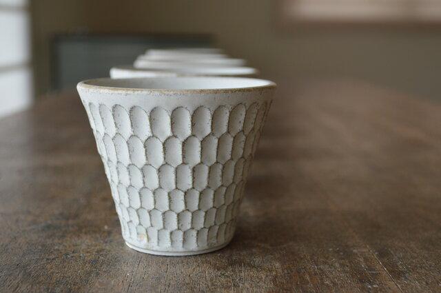ホリホリカップ(淡いみどり)の画像1枚目