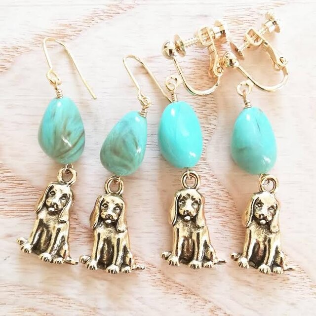 cute puppy♡turquoiseの画像1枚目