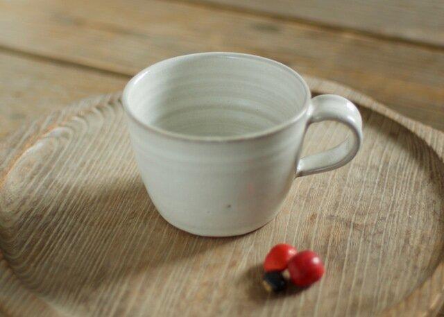 白釉 コーヒーカップの画像1枚目