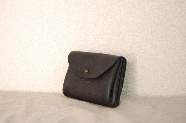 コロンとジャバラミニ財布Mサイズ BKの画像1枚目