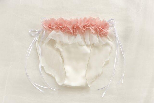 お花 シルク ショーツ Bouquet ふんどしパンツ (M size)の画像1枚目