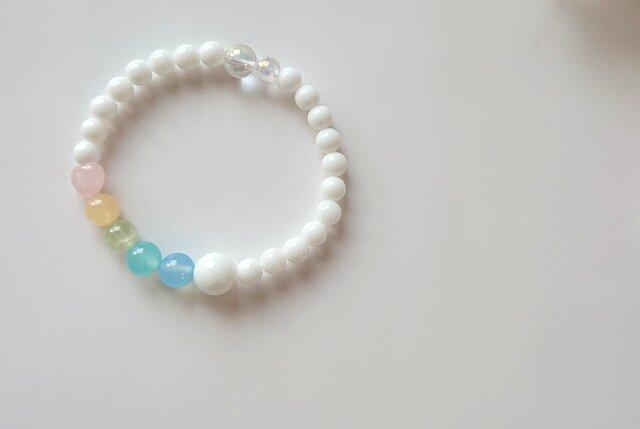 *lucky 7 color braceletの画像1枚目