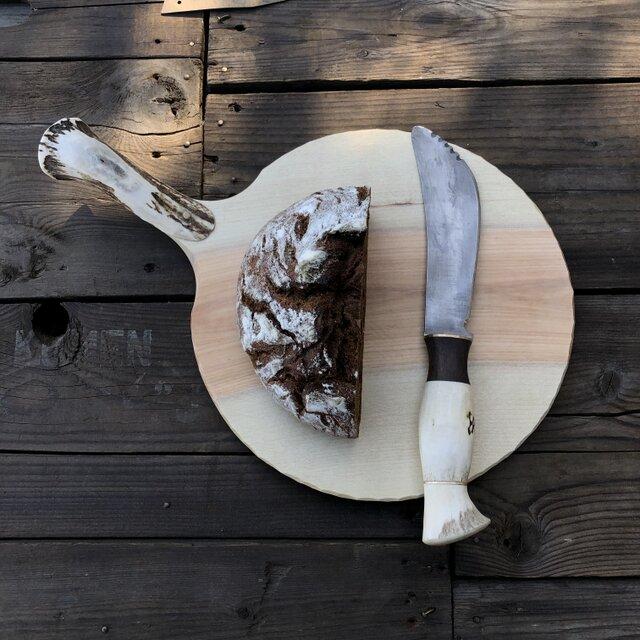 パン切りナイフ(カッティングボード付)の画像1枚目