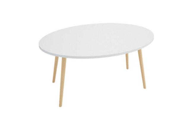 オーダーメイド 職人手作り ローテーブル 座卓 テーブル 北欧モダン白家具 モノトーンインテリア サイズオーダー可の画像1枚目