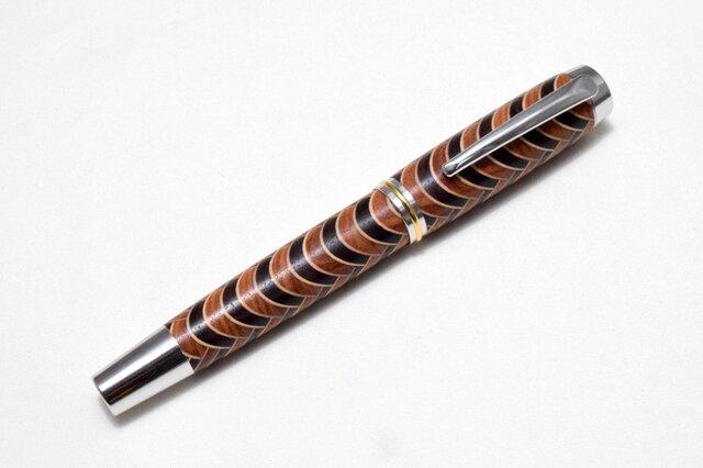 【寄木】手作り木製万年筆 #6の画像1枚目