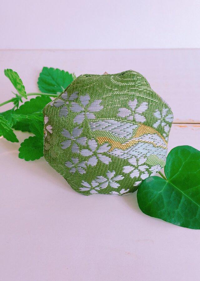 祈りの匂い袋〜香りむすび〜 八角香 抹茶 桜の画像1枚目